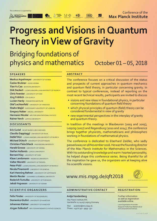 Progress and Visions in Quantum Theory in View of Gravity Preview